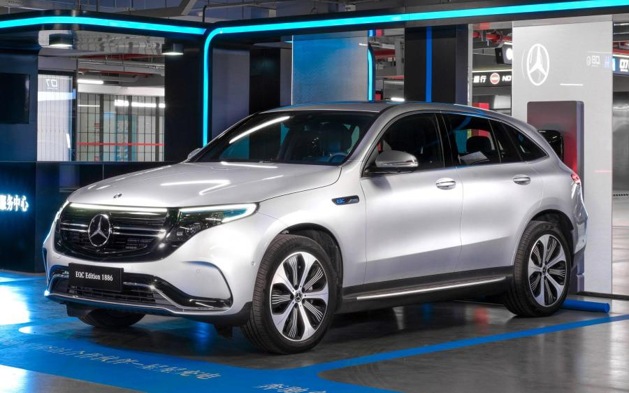 Mercedes-Benz EQC400 4Matic Edition 1886 (N293) (CN) '2019