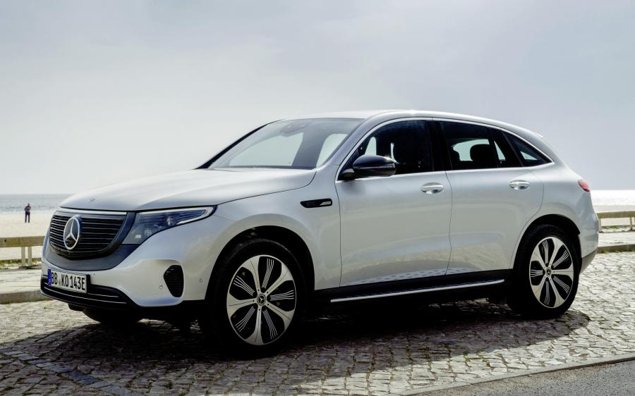 Mercedes-Benz EQC400 4Matic Edition 1886 (N293) (WW) '2019