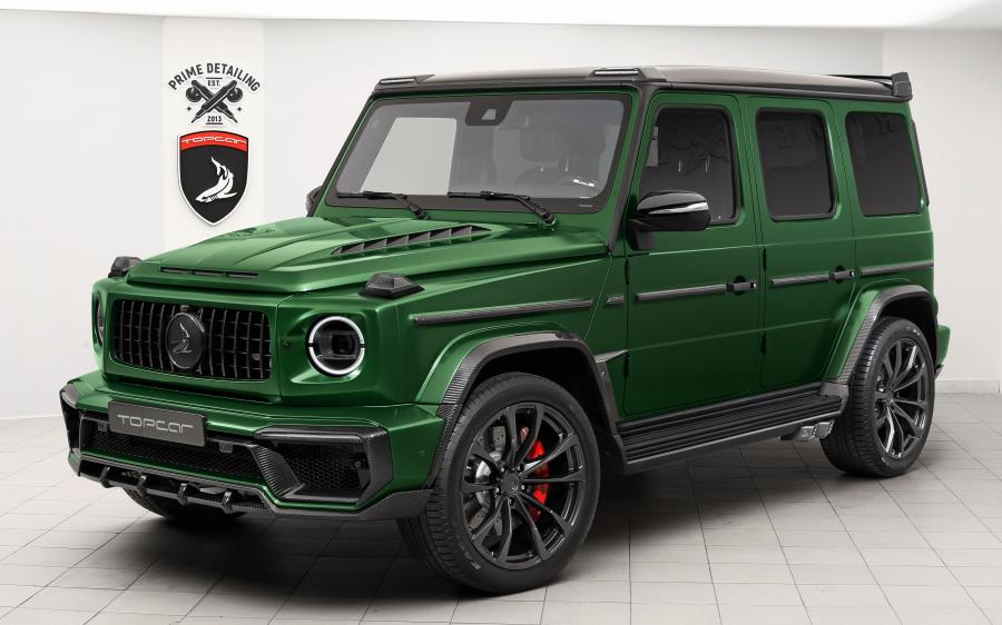 Mercedes-Benz G-Class Inferno by TopCar