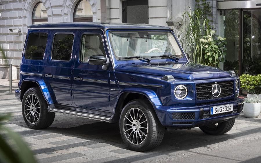 2019 Mercedes-Benz G400 d AMG Line Stronger Than Time (WW)