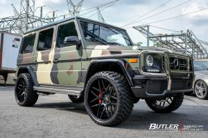 2019 Mercedes-Benz G500 by Butler on Forgiato Wheels (S202)