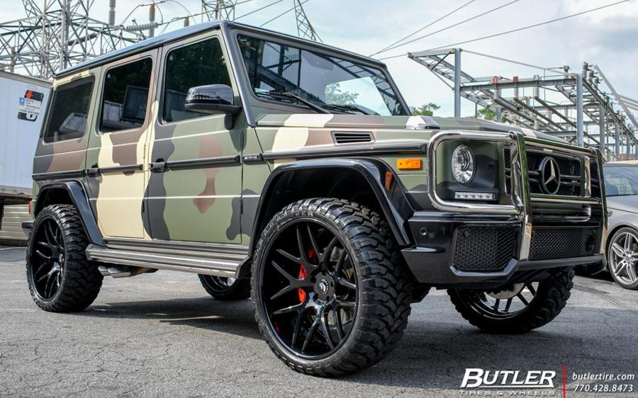 Mercedes-Benz G500 by Butler on Forgiato Wheels (S202)