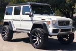 Mercedes-Benz G550 4x4² White on Forgiato Wheels (Gambe-1) 2019 года