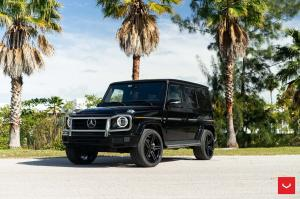 2019 Mercedes-Benz G550 on Vossen Wheels (HF-1)