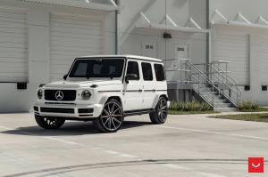 2019 Mercedes-Benz G550 on Vossen Wheels (HF-3)