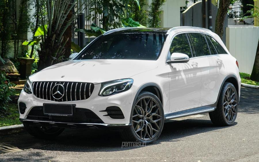 2019 Mercedes-Benz GLC200 4Matic AMG Line by Permaisuri on Vossen Wheels (HF-2)