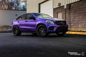 2019 Mercedes-Benz GLE-Class Coupe by Designo Motoring on Vossen Wheels (M-X3)