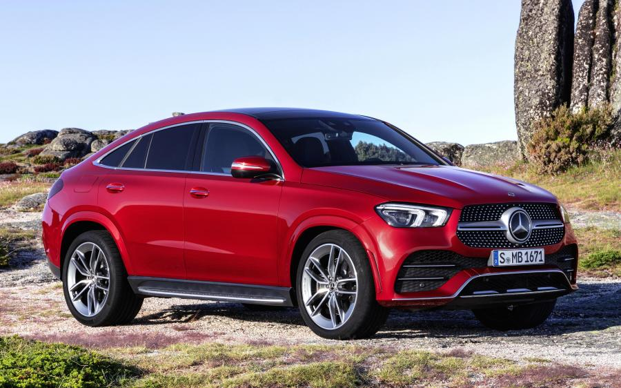 2019 Mercedes-Benz GLE400 d 4Matic AMG Line Coupe (WW)