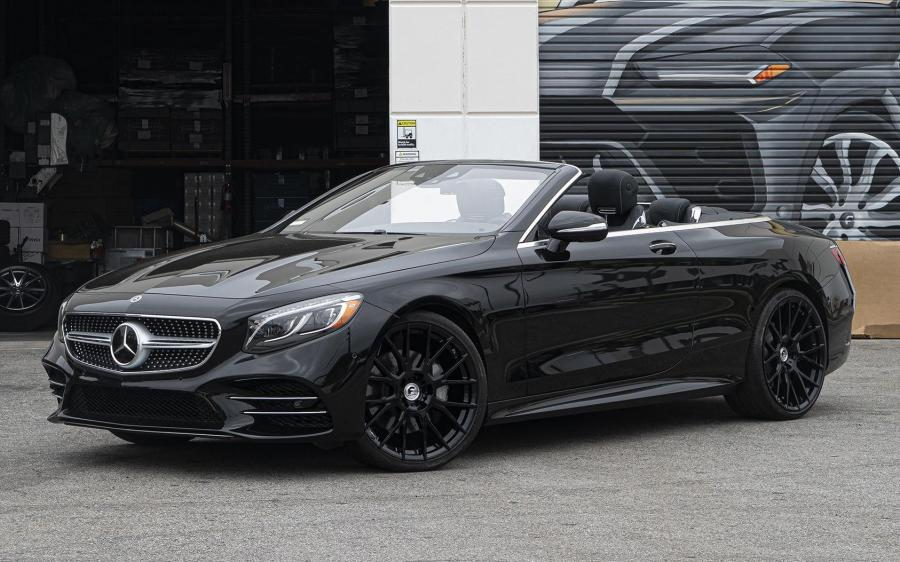 2019 Mercedes-Benz S-Class Cabriolet on Forgiato Wheels (FLOW 001)