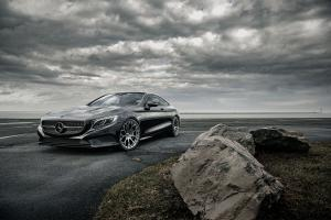 Mercedes-Benz S500 Coupe AMG Line on Forgiato Wheels (Drea-M) 2019 года