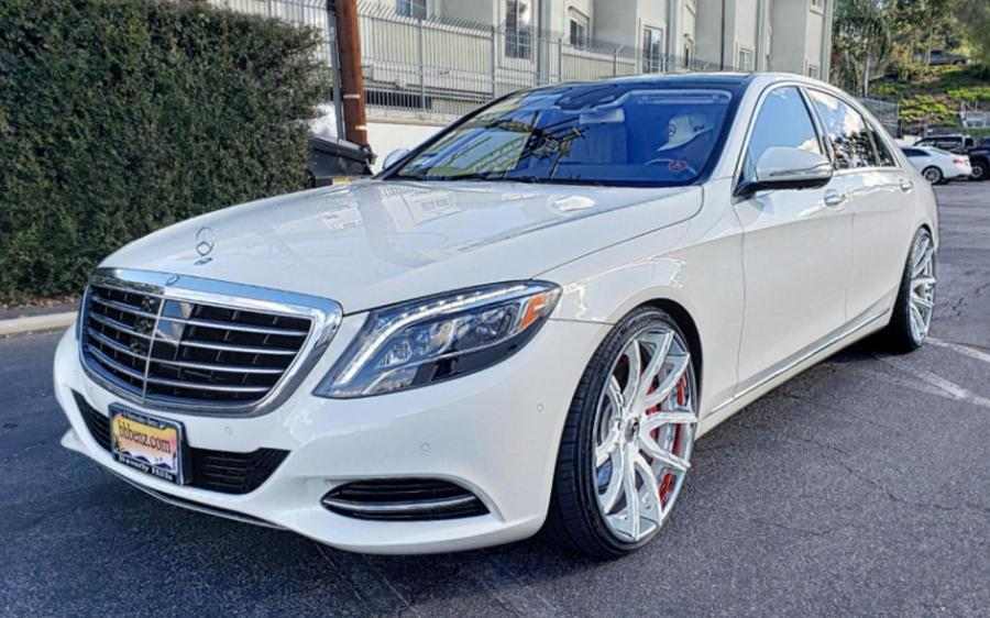 2019 Mercedes-Benz S550 4Matic on Forgiato Wheels (Formato-ECL)