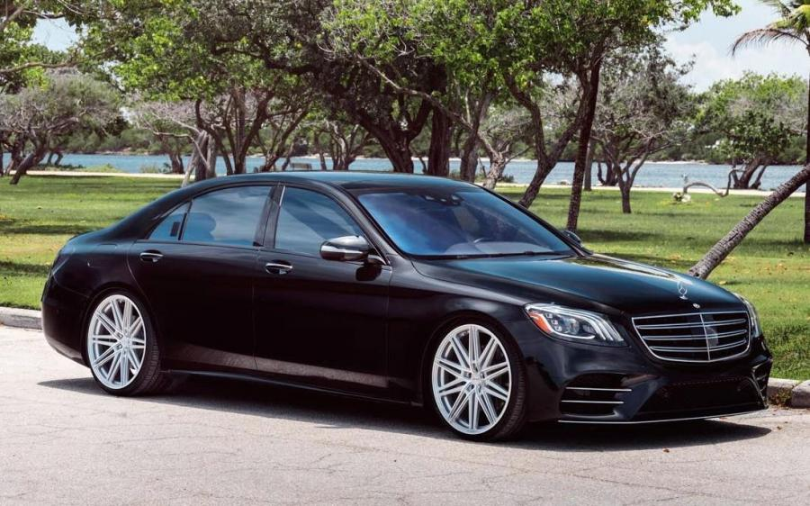 2019 Mercedes-Benz S550 4Matic on Vossen Wheels (CV10)