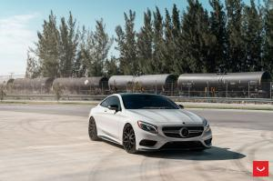 Mercedes-Benz S550 Coupe 4Matic on Vossen Wheels (HF-2) 2019 года
