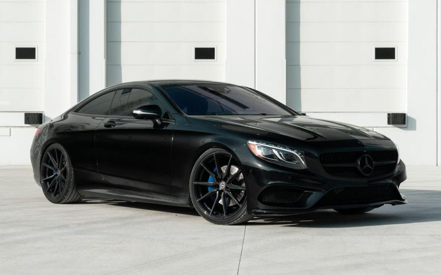 2019 Mercedes-Benz S550 Coupe 4Matic on Vossen Wheels (HF-3)