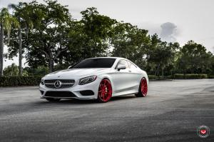 2019 Mercedes-Benz S550 Coupe 4Matic on Vossen Wheels (M-X2)