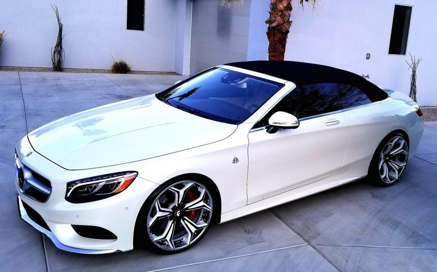 2019 Mercedes-Benz S560 Cabriolet on Forgiato Wheels (F2.09)