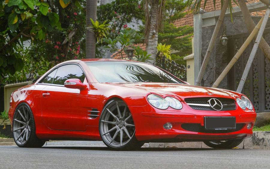 2019 Mercedes-Benz SL500 by Permaisuri on ADV.1 Wheels (ADV10 M.V2 CS)