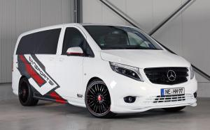 Mercedes-Benz Vito 119 Mixto White Sport Van by Hartmann & Vansports.de 2019 года