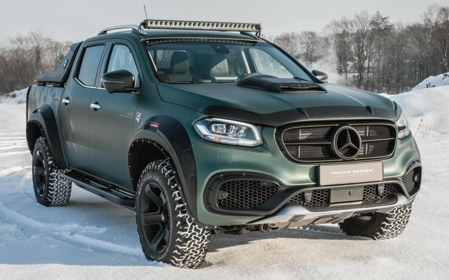 Mercedes-Benz X-Class Exy EXTREME by Carlex Design
