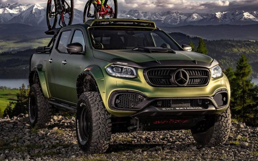 Mercedes-Benz X-Class Exy EXTREME+ by Carlex Design '2019