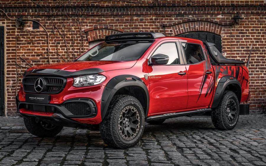 Mercedes-Benz X-Class Exy OFF-ROAD Red by Carlex Design '2019