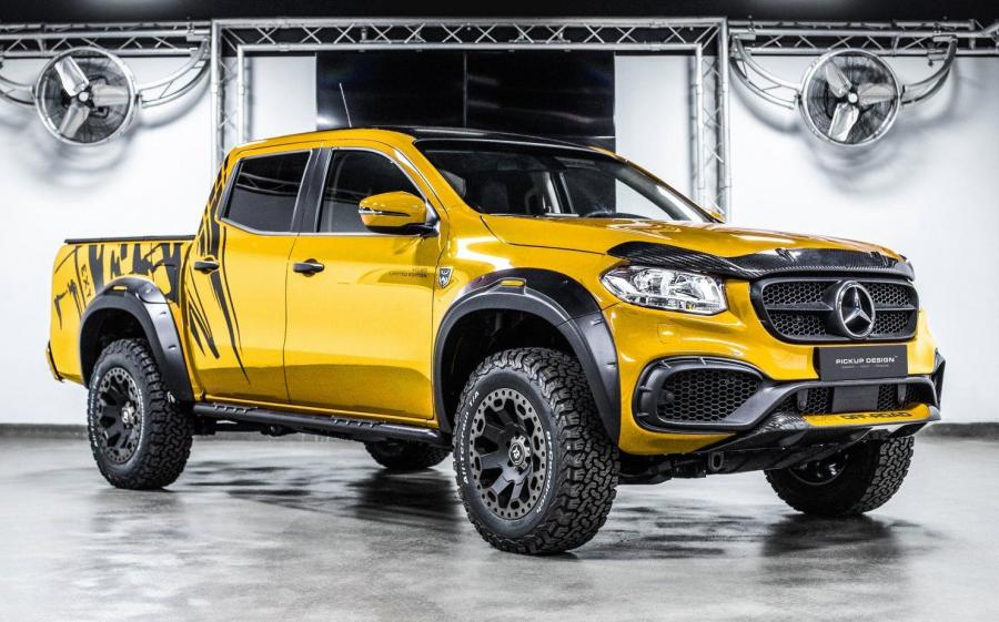 Mercedes-Benz X-Class Exy OFF-ROAD Yellow by Carlex Design