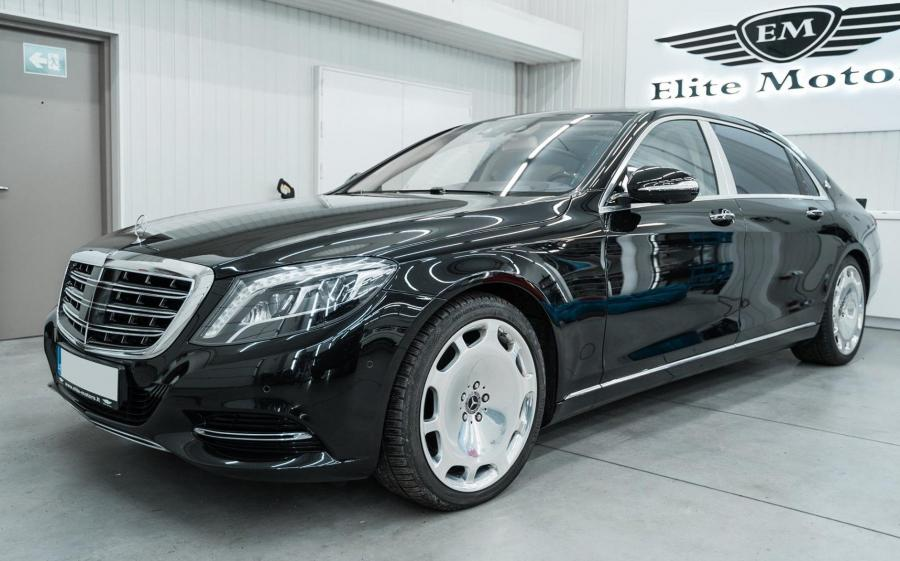 Mercedes-Maybach S500 4Matic by Elite Motors (X222) '2019