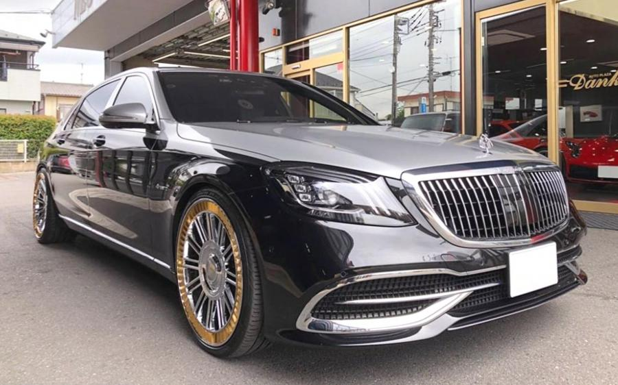 Mercedes-Maybach S560 on Forgiato Wheels (Orologio-M) '2019