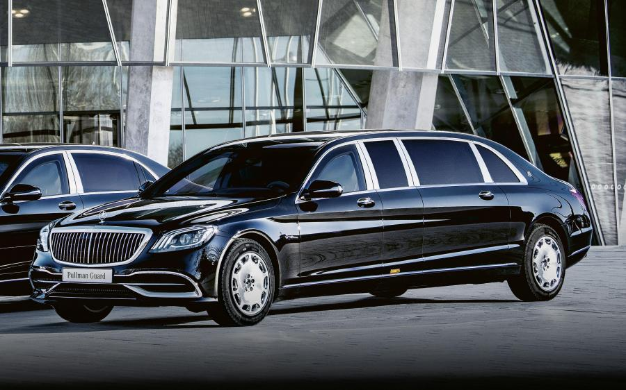 Mercedes-Maybach S650 Pullman Guard (VV222) '2019