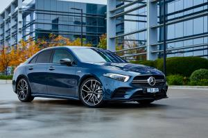 2020 Mercedes-AMG A35 4Matic Sedan