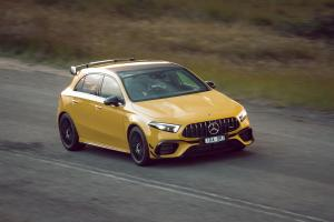 2020 Mercedes-AMG A45 S 4Matic+ Aerodynamic Package