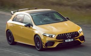 Mercedes-AMG A45 S 4Matic+ Aerodynamic Package 2020 года (AU)
