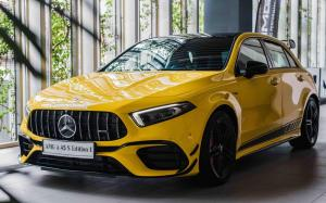 Mercedes-AMG A45 S 4Matic+ Aerodynamic Package Edition 1 2020 года