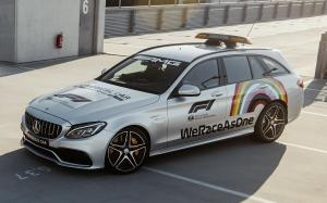 Mercedes-AMG C63 S Estate F1 Medical Car 2020 года