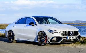 Mercedes-AMG CLA45 S 4Matic+ Aerodynamic Package 2020 года