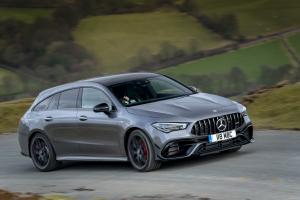2020 Mercedes-AMG CLA45 S 4Matic+ Shooting Brake