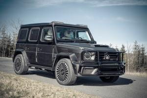 Mercedes-AMG G63 Armored by Mansory 2020 года