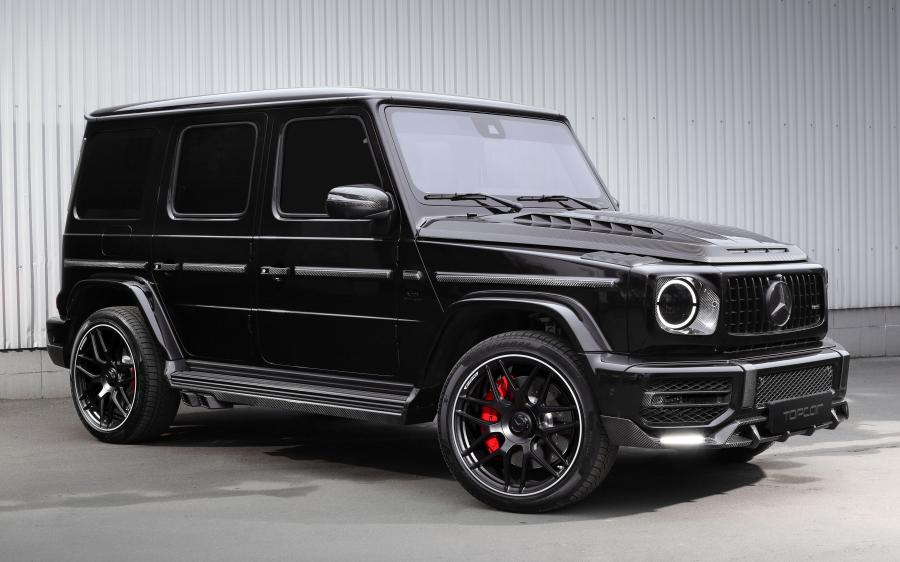 2020 Mercedes-AMG G63 Light Package by TopCar (designo Mocha Black Metallic)