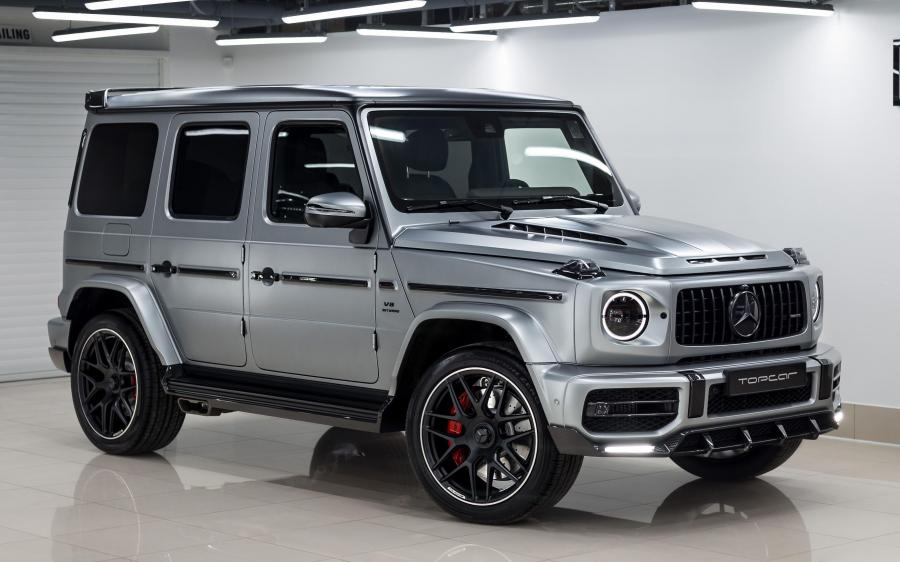 2020 Mercedes-AMG G63 Light Package by TopCar (designo Platinum Magno)