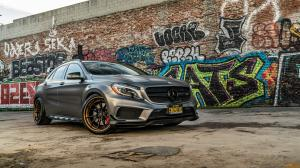 Mercedes-AMG GLA45 4Matic by Platinum Motorsports on ADV.1 Wheels (ADV5.2 TRACK SPEC ADVANCED) 2020 года