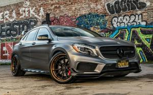 Mercedes-AMG GLA45 4Matic by Platinum Motorsports on ADV.1 Wheels (ADV5.2 TRACK SPEC ADVANCED)