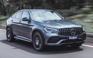 Mercedes-AMG GLC43 4Matic Coupe 2020 года (AU)