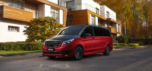 2020 Mercedes-Benz V250d Black Crystal Light by Larte Design