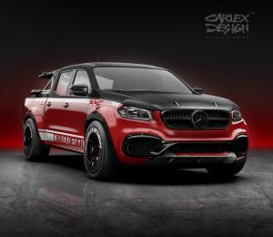 2020 Mercedes-Benz X-Class 30 Special Edition Exy Viale Bike Tour Set by Carlex Design