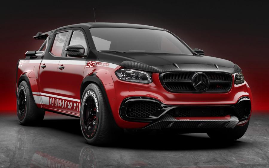 Mercedes-Benz X-Class 30 Special Edition Exy Viale Bike Tour Set by Carlex Design '2020