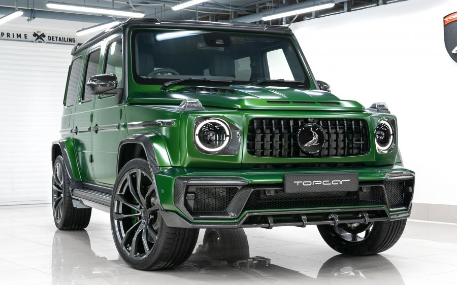 2020 Mercedes-AMG G63 Inferno by TopCar (UK)