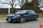 Mercedes-Benz S550 on Vossen Wheels (HF-3) 2020 года