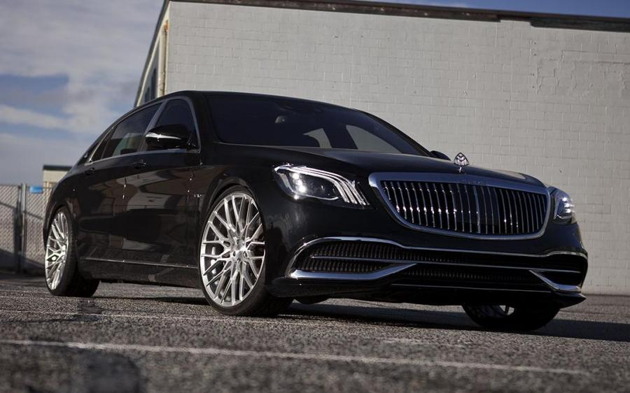 Mercedes-Maybach S600 by SR Auto Group on PUR Wheels (FL25) (X222) '2020