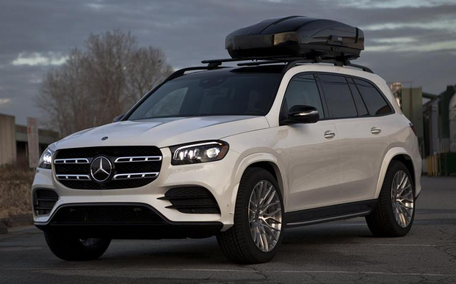 2020 Mercedes-Benz GLS450 by SR Auto Group on PUR Wheels (FL25)