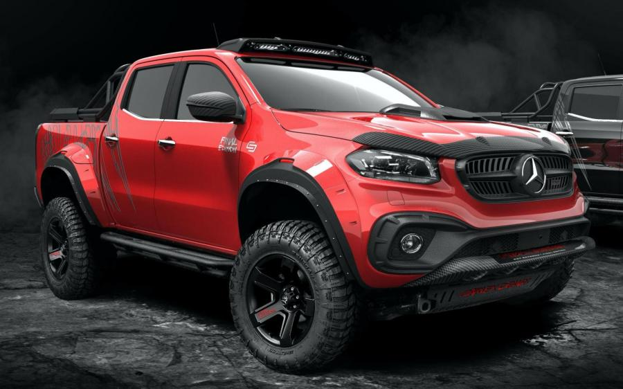 Mercedes-Benz X-Class Exy Off-Road Final Edition by Carlex Design '2020